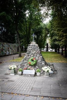 Minnes moment utanför KGB museet.